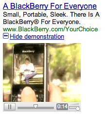 Google AdWords Video Ads