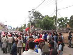 Maoist demonstration, Kathmandu
