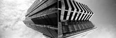 N E W O L D (D I C K S D A I L Y) Tags: london buildings diptych thecity shoreditch carpark offices londonist nikonfm2 nikkor1835f3545 kodaktmax400 rodinal