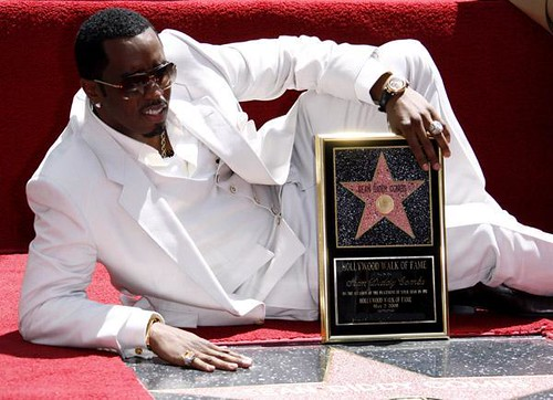 p diddy hollywood star