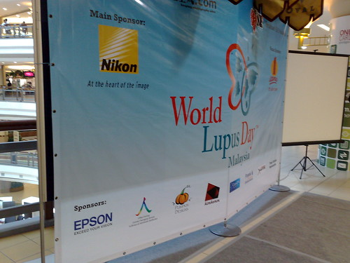 World Lupus Day @ 1 Utama, 1st Floor Oval.