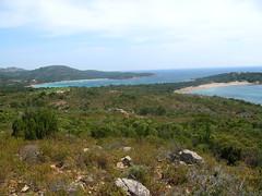Baie de Rondinara et sa plage Sud (point de départ de la randonnée)
