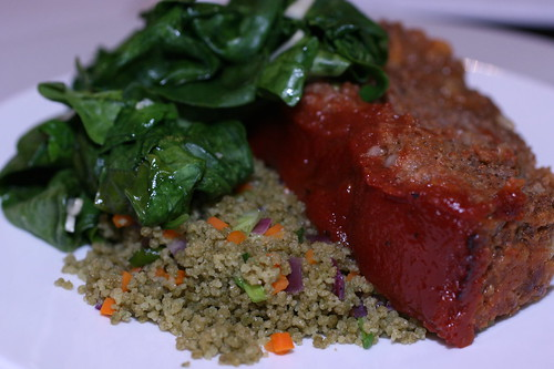 Moroccan Spiced Meatloaf
