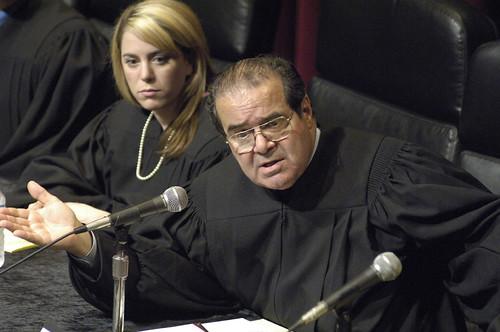 Image of stupid Supreme Court Justice Scalia