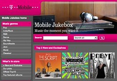 T-Mobile Jukebox - Music that stays with you
