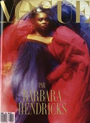 Vogue Paris Dcembre 1987 / Janvier 1988 (Ze Cali Fairy) Tags: fashion magazine vogue cover frenchvogue vogueparis barbarahendricks