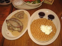 Scoe's #2 - 1/4 chicken in gravy with 2 waffles. (06/05/2008)