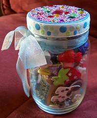 Whimsy Jar swap - sent (ozrob) Tags: whimsy swap jar sent swapbot