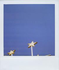 your star is killing me (tmatthewc) Tags: film polaroid sx70 feelingblue polaroid600 seaofblue savepolaroid