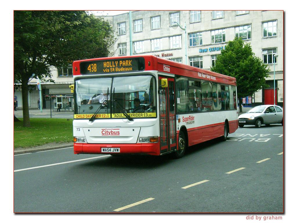 Plymouth Citybus 73 WA54JVW
