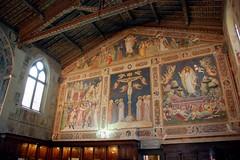Basilica di Santa Croce (VT_Professor) Tags: italy church florence basilica firenze fresco santacroce sacristy gaddi aretino gerini