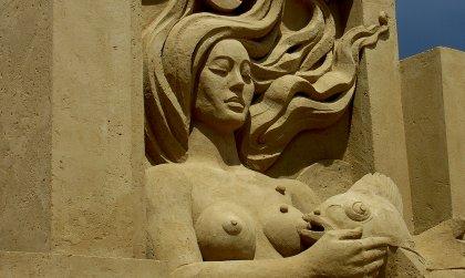 Sandskulptur Sandsation 2008