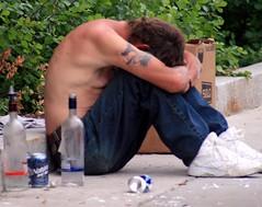 Despair (joscelynb) Tags: poverty boston drunk sad homeless alcohol despair destitute beginnerdigitalphotographychallengeswinner beginnerdigitalphotographychallengewinner
