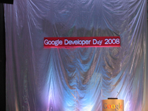 Google Developer Day 2008 (Mexico)