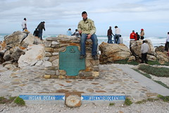 The most southern point in Africa (Agulhas, Western Cape, South Africa) Photo