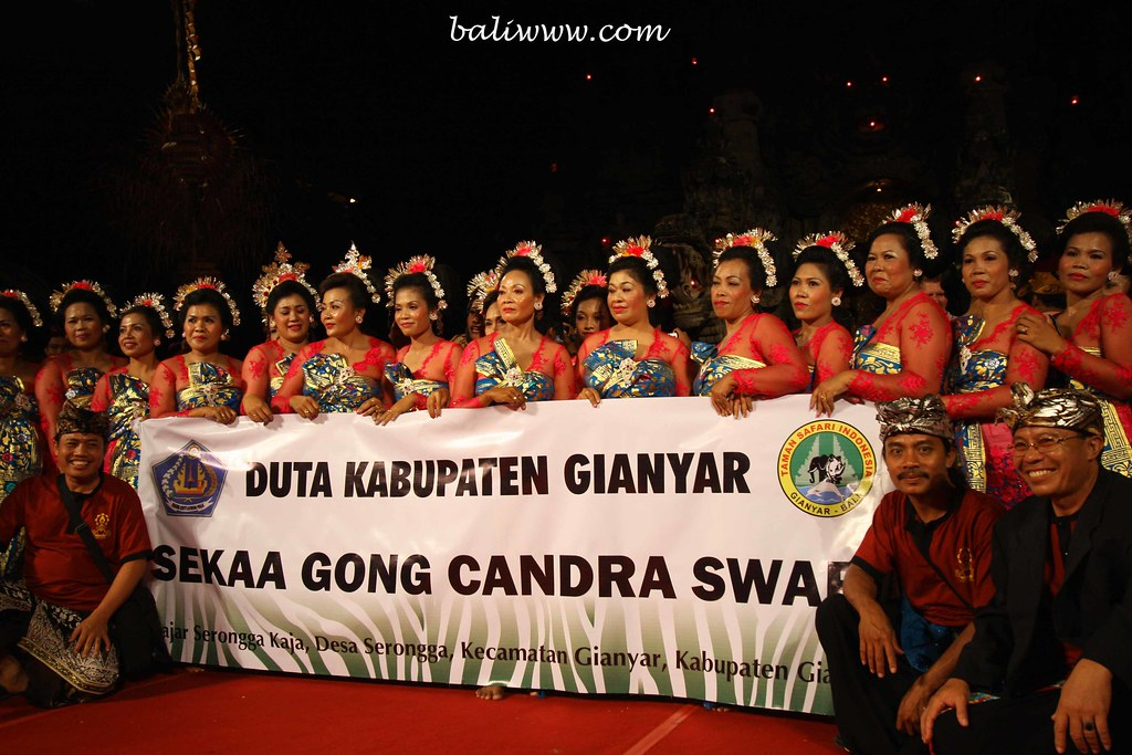 female gamelan group