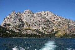 Grand Tetons from Jenny Lake (Beaver Creek, Wyoming, United States) Photo