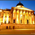 London National Gallery at the Blue Hour