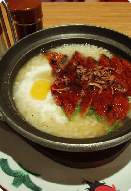 xin_wang_xiang_gang_cha_can_ting__unagi_porridge