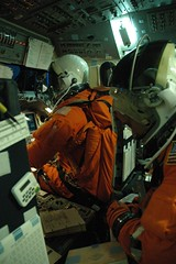 Sharing 'space' with STS-124 (collectspace) Tags: motion space johnson center nasa astronauts simulator base
