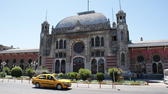 DSC00272 (soho/prince) Tags: station train turkey istanbul taxis