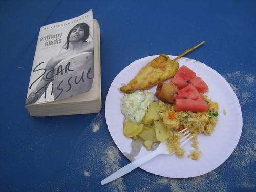 Beach Daze - free food and a good book