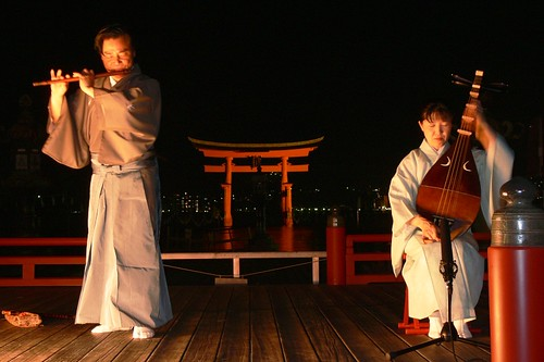 Music at Miyajima