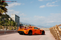Gemballa Mirage GT-1 (Julien Rubicondo Photography - julienrubicondo.com) Tags: orange black germany rollsroyce montecarlo monaco cayenne turbo porsche mirage gt carbon phantom luxury supercar carrera supercars prinz gemballa gt750 gt650