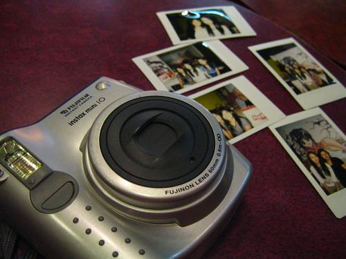 Instant camera & the photos