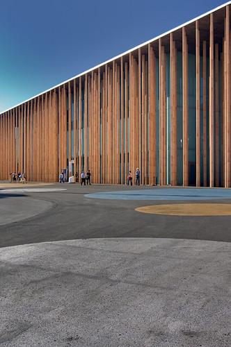 Zaragoza 2008, spanyol pavilon