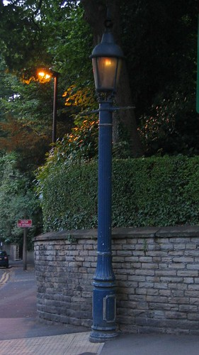 Sewer Gas Lamp