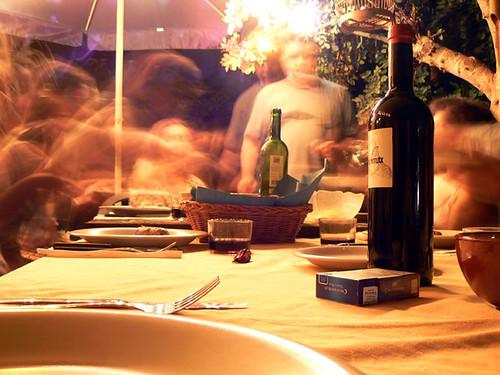 cena casa de silvia