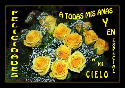 Felicidades Ana