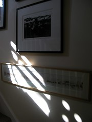 sunspots (venetia 27) Tags: light home wall stairs shadows prints karolinalarusdottir quartetinahurry