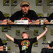 Simon Pegg at the Comic-con Spaced Panel