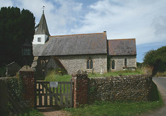 Litlington parish church (wide view) (Photo Paul) Tags: old uk england church parish stone architecture downs sussex village historic gb flint eastsussex southdowns litlington