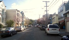 San Francisco's Noe Valley neighborhood (by: philyook, creative commons license)