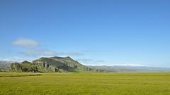 Hrútafell, Drangshlíðarfjall, Mýrdalsjökull