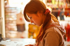 braids (moaan) Tags: leica portrait woman 50mm cafe dof bokeh candid f10 m8 beautifulwoman noctilux 2008 plaits leicam8 leicanoctilux50mmf10 bokehwhores gettyimagesjapanq1 gettyimagesjapanq2