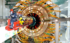 Large Hadron Collider Opens Black Hole