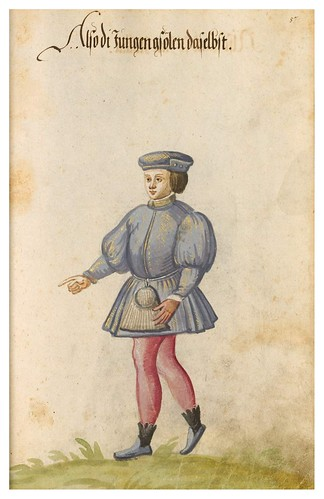 10- Vestimentas de España y Portugal año 1600- 57r