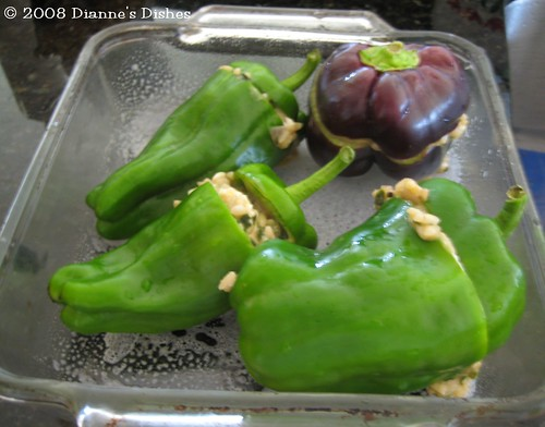 Stuffed Peppers: Read to Bake