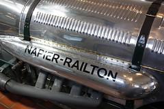Napier Ralton I (Canveyfornia) Tags: car museum digital canon eos rebel vehicle motor napier xsi brooklands ralton