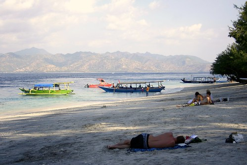 Gili Trawangan tourists