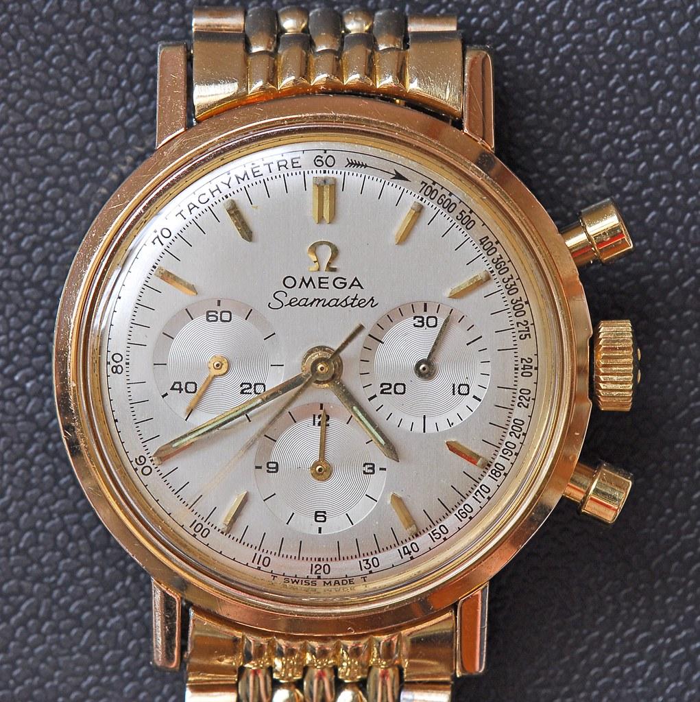 Omega Seamaster 321 chronograph