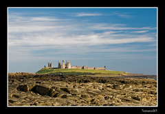 Dunstanburgh Castle. (numanoid69) Tags: uk sea seascape castle landscape rocks northumberland craster dunstanburghcastle almostanything nikond300 prideofengland