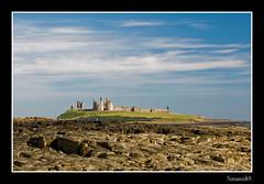 Dunstanburgh Castle. (numanoid69) Tags: uk sea seascape castle landscape rocks northumberland craster dunstanburghcastle almostanything nikond300 prideofengland