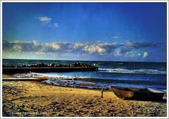 Tisvilde beach at sunset (Andrea Rapisarda) Tags: sea beach clouds strand denmark nuvole mare best hdr bestofthebest danimarca tisvilde abigfave andrearapisarda