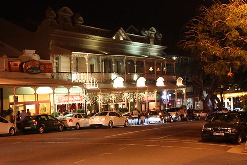 Night View of Florida Road, Durban