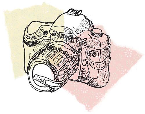 a hurt camera